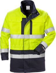 Flame High Vis Winterparka Kl. 3 4589 FLAM Fristads Medium