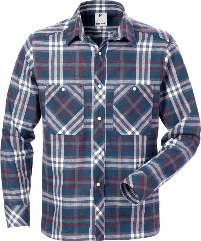 Fristads Men's Flanellskjorta 7094 SHF, Mörkblå
