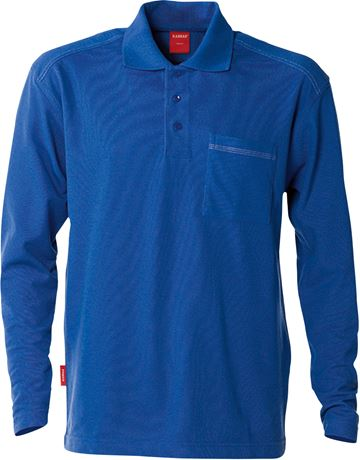 Match long sleeve polo  3 Kansas  Large