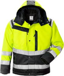 High vis winter jacket class 3 4043 PP Fristads Medium