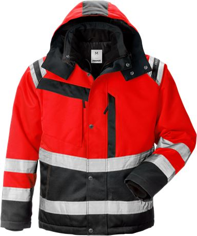 High vis winter jacket class 3 4043 PP 1 Fristads  Large