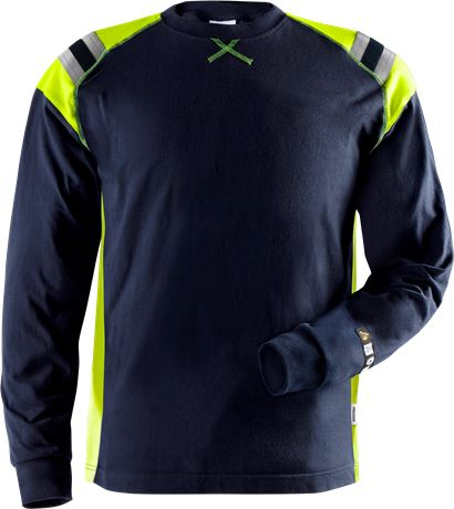 Flamestat langærmet T-shirt 7072 1 Fristads  Large