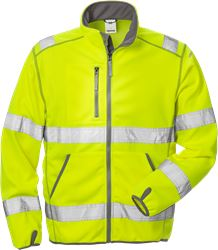 High vis softshelljack klasse 3 4840 SSL Fristads Medium