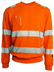 Collegetröja HiVis Leijona Medium