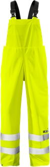 Flame high vis rain trousers class 2 2047 RSHF 1 Fristads Small