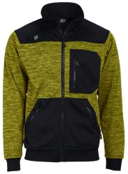 Sweat Jacket Melange Leijona Medium