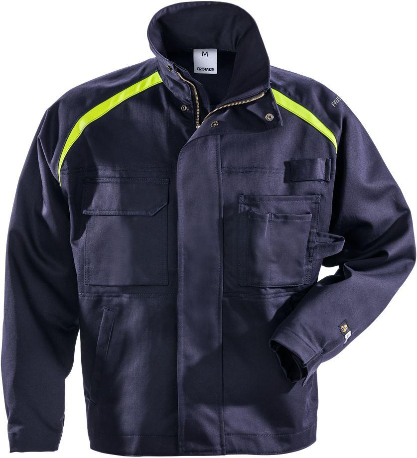Fristads Men's Flamskyddad jacka 4030 FLAM, Mörk marinblå