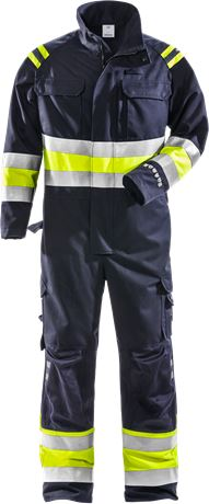 Flamestat high vis coverall cl 1 8174 ATHS 1 Fristads