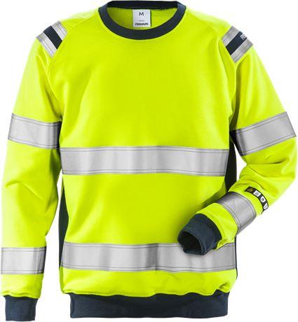 Flamestat sweat-shirt haute visibilité classe 3 7076 SFLH 1 Fristads