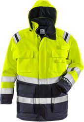 Flamestat high vis winter parka class 3 4086 ATHR Fristads Medium
