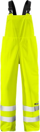 Flame high vis rain trousers class 2 2047 RSHF 1 Fristads  Large