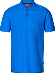 Apparel piqué bomulds poloshirt med brystlomme Kansas Medium