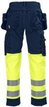 Ladies' Tool Pocket Trousers HiVis 3.0 2 Leijona Small