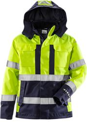 Flame high vis shell jacket class 3 4022 FLR Fristads Medium