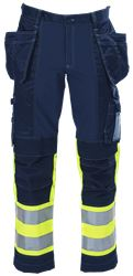 Ladies' Tool Pocket Trousers HiVis 3.0 Leijona Medium