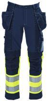 Ladies' Tool Pocket Trousers HiVis 3.0 1 Leijona Small