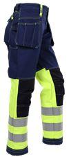 Ladies' tool pocket trousers Multitech 3 Leijona Small