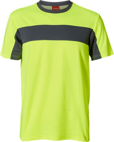 Evolve t-shirt, Hi Vis 1 Kansas