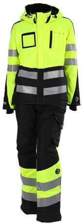 Ladies' Winter Trousers HiVis 3.0 6 Leijona  Large