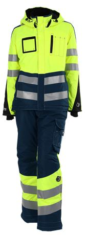 Ladies' winter jacket HiVis 3.0  3 Leijona  Large