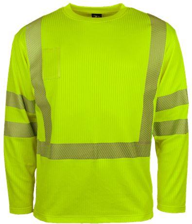 T-shirt långärmad HiVis 1 Leijona  Large