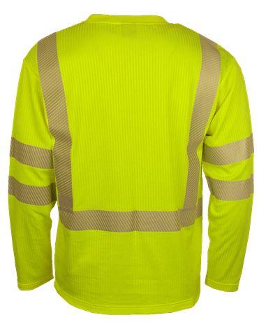 T-shirt långärmad HiVis 2 Leijona  Large