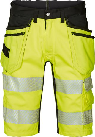 Hi Vis Handwerker Shorts, Klasse 1, Flexforce 1 Kansas