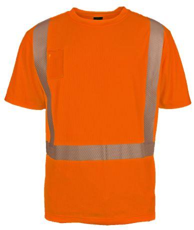 T-paita lyhythihainen HiVis 1 Leijona  Large