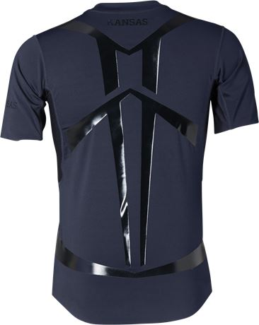 Crafted Kompressions-T-Shirt 2 Kansas  Large
