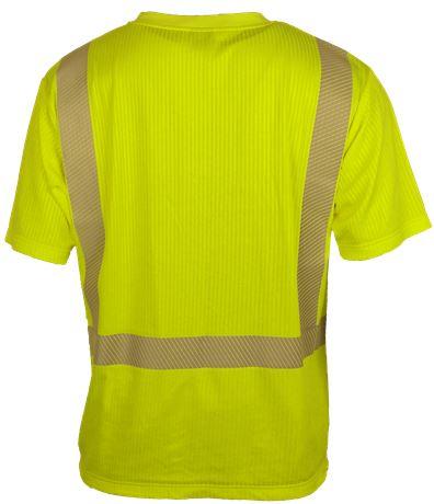 T-paita lyhythihainen HiVis 2 Leijona  Large