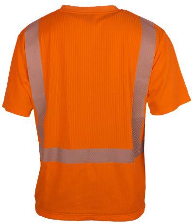 T-shirt Short Sleeves HiVis 2 Leijona  Large