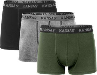 Boxershorts im 3er Pack. Kansas Medium