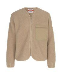 KANSAS X SAMSØE SAMSØE – Fleece jacket, Men Kansas Medium