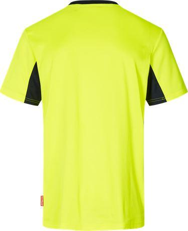 Evolve t-shirt, Hi Vis 2 Kansas  Large
