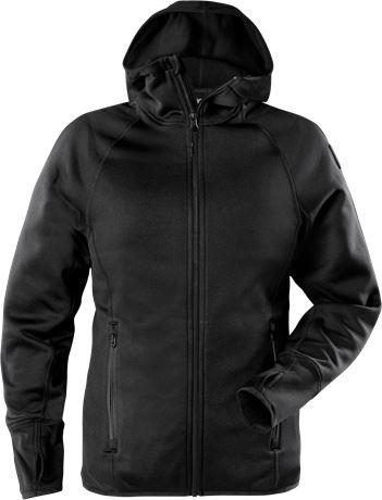 Calcium Polartec® power stretch hoodie, dam 1 Fristads Outdoor