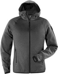 Calcium Polartec® power stretch hoodie, dam Fristads Outdoor Medium