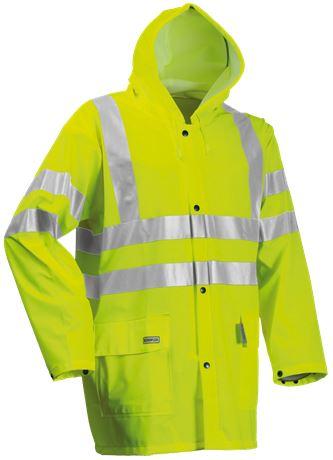 Rain coat HiVis 1