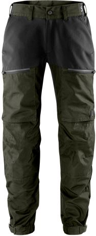 Carbon semistretch outdoor trousers  1 Fristads Outdoor