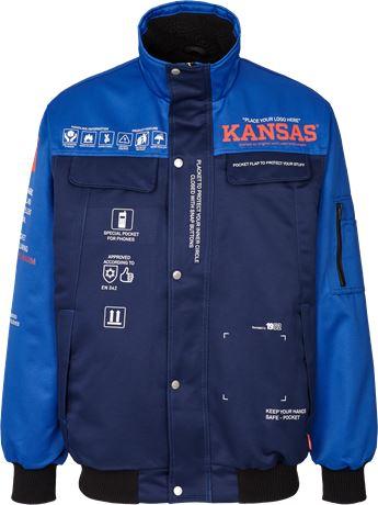 Kansas Wear Icon Pilotjacke 1 Kansas  Large