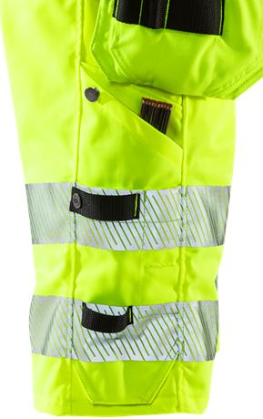 High vis stretch shorts woman cl 1 2529 PLU 4 Fristads  Large
