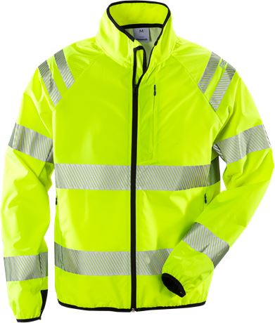 High vis shelljack klasse 3 4091 LPR 1 Fristads  Large