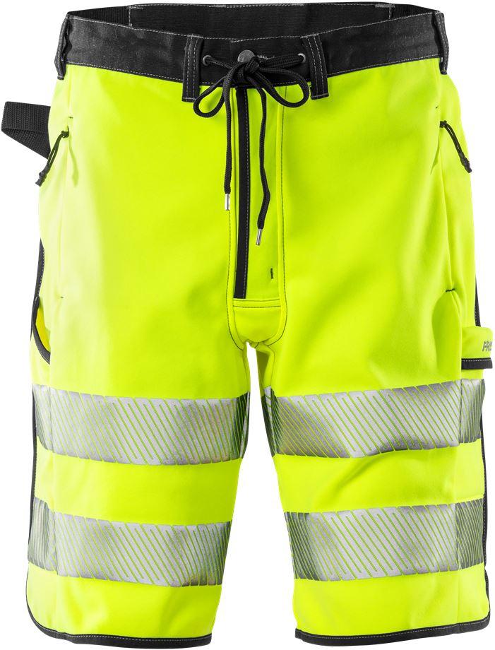 Fristads Men's Varselshorts jogger 2513 SSL, klass 2, Varsel Gul