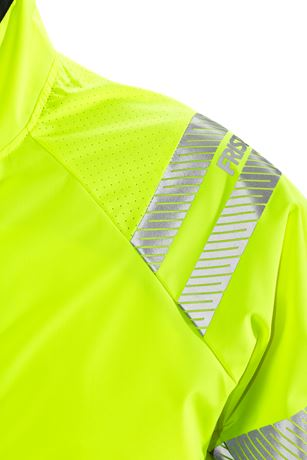 High vis shelljack klasse 3 4091 LPR 3 Fristads  Large