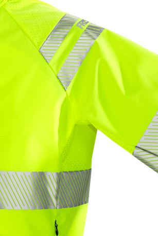High vis shelljack klasse 3 4091 LPR 5 Fristads  Large