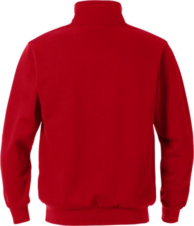 Sweatshirt med kort lynlås 2 Fristads  Large