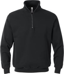Sweatshirt med kort lynlås Fristads Medium