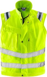 High vis waistcoat class 2 5013 PLU Fristads Medium
