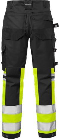 High vis craftsman stretch trousers class 1 2614 PLUS 2 Fristads  Large