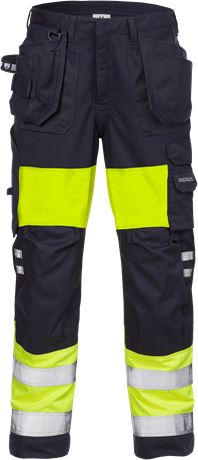 Flamestat high vis werkbroek dames klasse 1 2777 ATHS 1 Fristads  Large