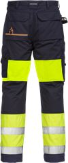 Flamestat high vis werkbroek dames klasse 1 2777 ATHS 2 Fristads Small